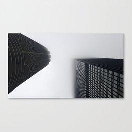 Foggy chicago Morning 001 Canvas Print