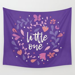 Little One Florals Wall Tapestry