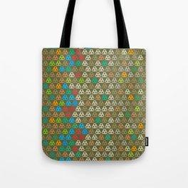 Khaki days hexa Tote Bag