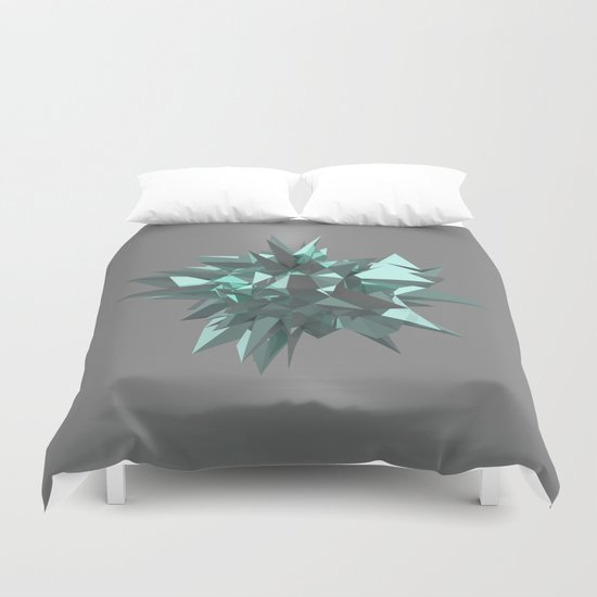 Sphere of shards I Duvet Cover