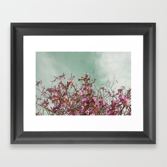 Flower Tree Framed Art Print