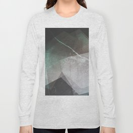 Marble Teal Layers Long Sleeve T-shirt
