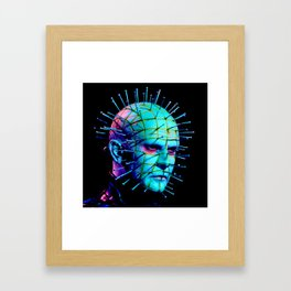 Pinhead Hellraiser - Neon Night Framed Art Print