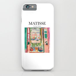 Matisse - The Open Window iPhone Case