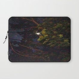 Moon Through Tree Laptop Sleeve