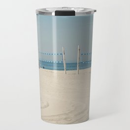 Hermosa Beach Volleyball Travel Mug