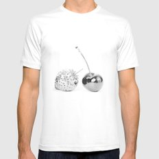 Silver fruits White Mens Fitted Tee LARGE