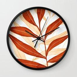 Kelp - Terracotta Wall Clock