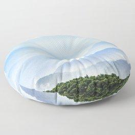 Great Smoky Mountain National Park Sunset Layers II - Nature Photography Floor Pillow