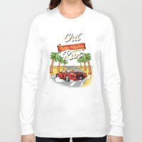 racing Long Sleeve T-shirts featuring Racing Adventure by MeleeNinja