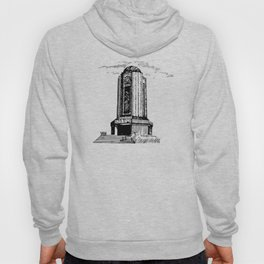Old Mausoleum Ink Art Hoody
