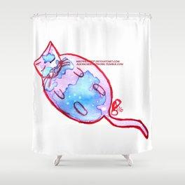 Paper Scrolls (12) Chunk Shower Curtain