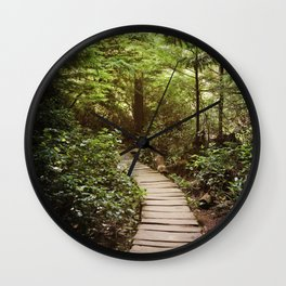 trail to Cape Flattery Wall Clock