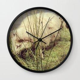Nom nom Wall Clock