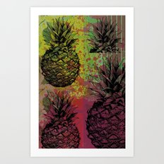 PineApple Fiesta Art Print