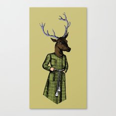 The Stately Stag Canvas Print
