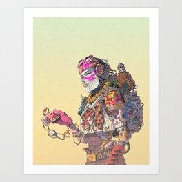 B.E.L.E Art Print