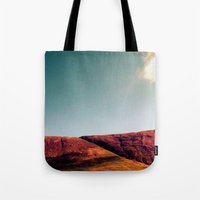 the fault Tote Bags featuring fault. by zenitt