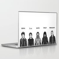 boys Laptop & iPad Skins featuring Dystopian Boys by Plebnut