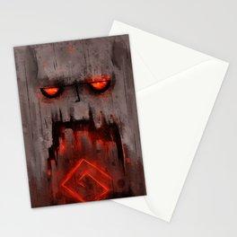Volcanic Golem Stationery Cards