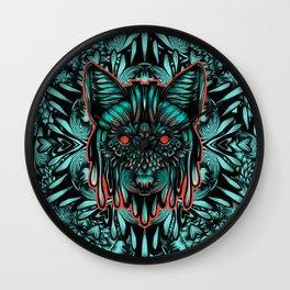 Fox Color Wall Clock