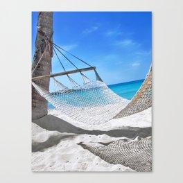 Domenicana beach Canvas Print