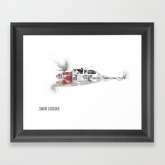Star Wars Vehicle Snow Speeder Framed Art Print