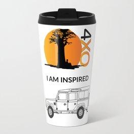 I AM INSPIRED LAND ROVER DEFENDER Travel Mug