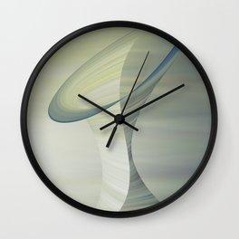Floating Sculpture #society6 #buyart #decor Wall Clock
