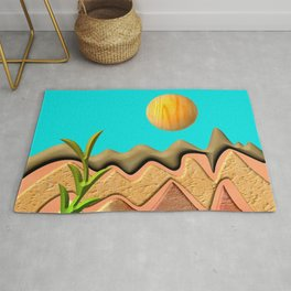 Mountain Worlds  Rug