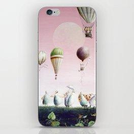 Un Deux Trois iPhone Skin