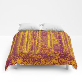 In the middle of the forest #decor #society6 Comforters