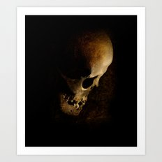 When you nightmares come Art Print