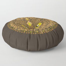 Autumn Circle Floor Pillow