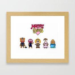 Moffat Babies  Framed Art Print