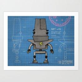 RBT v0.1 Art Print