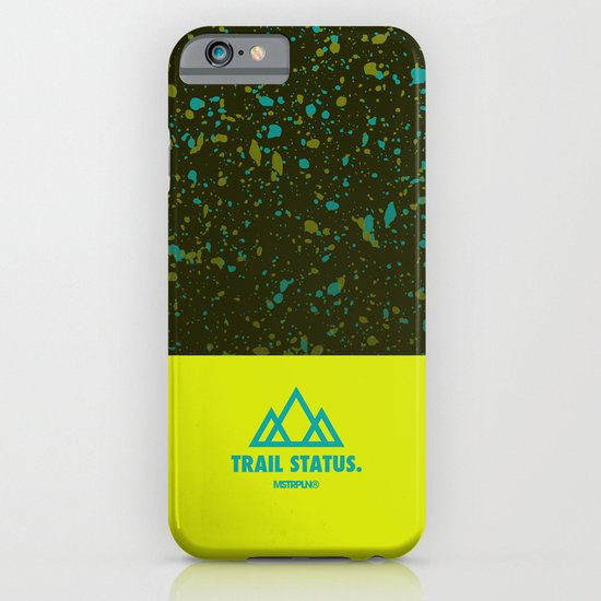 Trail Status / Green iPhone & iPod Case