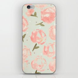 Syana's Cabbage Roses iPhone Skin