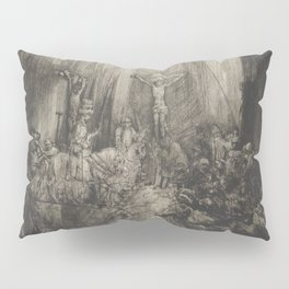 The Three Crosses, 4th State Pillow Sham