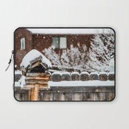 Snow House Laptop Sleeve