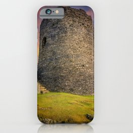 Dolbadarn Castle Snowdonia Wales iPhone Case