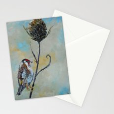 Goldfinch on Thistle Stationery Cards