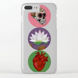 Symbols of Frida Kahlo Clear iPhone Case