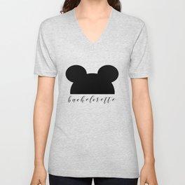 Mouse Ears Bachelorette Unisex V-Neck