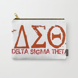 Delta Sigma Theta Carry-All Pouch