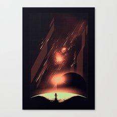 Intergalactic Travel Canvas Print