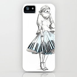 midi skirts iPhone Case