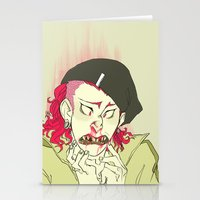 dangan ronpa Stationery Cards featuring souda pop by Cori Walters