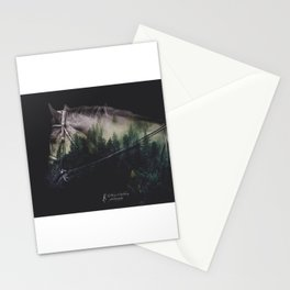 Double Exposure Horse Stationery Cards