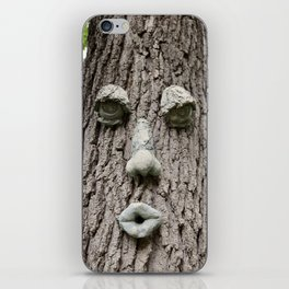 The Tree is Watching iPhone Skin